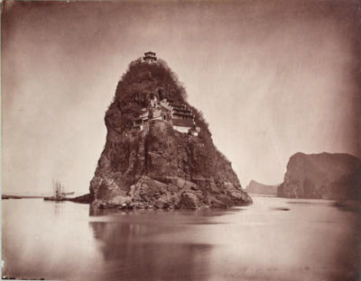 Photographer unidentified. Little Orphan Island, Yangtze, China.