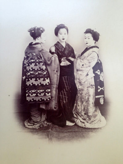 Felice Beato (Attrib.) Geisha, Japan.