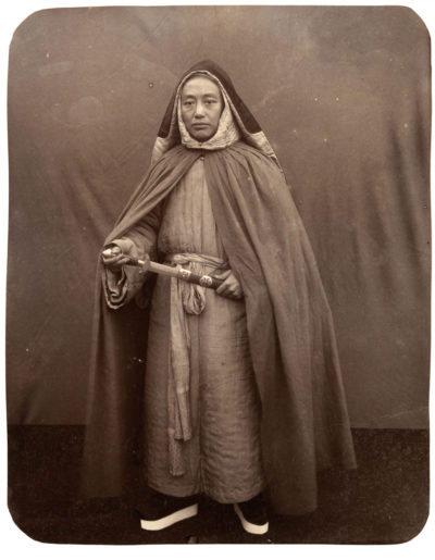 Photographer unidentified. Chinese monk.