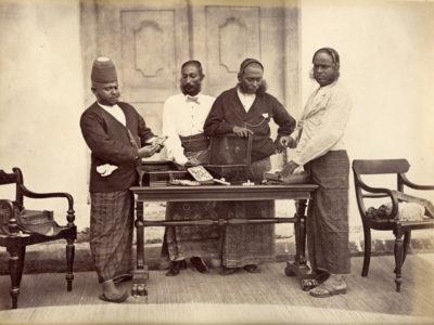 Charles T Scowen (Attrib.) Jewellers, SriLanka.