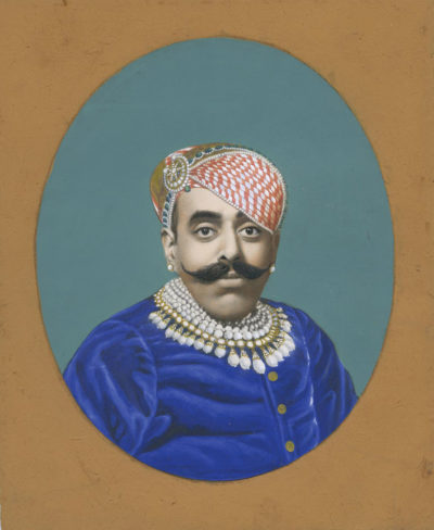 Photographer unidentified. Maharaja.