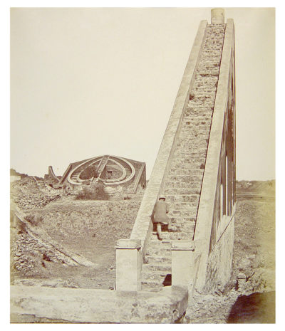 Felice Beato. The Observatory, Delhi.