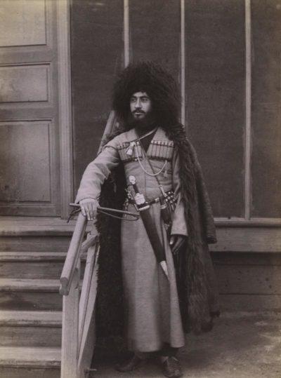 Dimitri Ivanovich Ermakov. Georgian Soldier. c.1877.