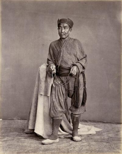 Charles Shepherd (Attrib.) Tibetan monk.