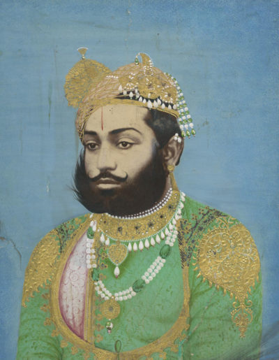 Photographer unidentified. Maharaja.