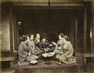 Photographer unidentified. Japanese group, Japan.