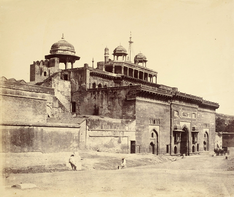 Dr John Murray. Inner Facade of the Gateway, Agra, India. SOLD