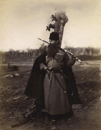 Dimitri Ivanovich Ermakov. Soldier, Caucasus. c.1877.