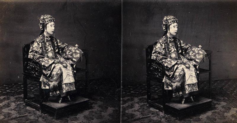 Milton Miller. Mandarin Lady, Canton, China. SOLD